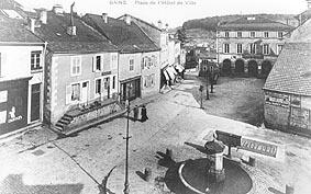 ancienne photo des Bains-les-Bains