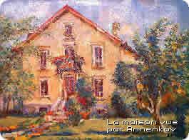 Peinture de la maison à Bains-les-Bains